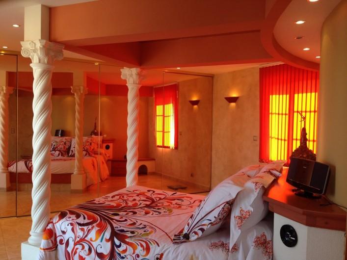 Location de vacances - Villa à Les Issambres - Chambre parents