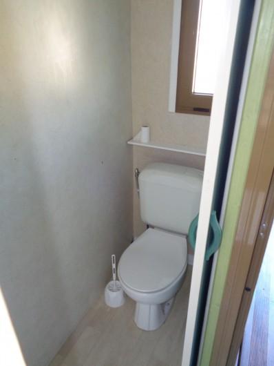 Location de vacances - Chalet à Belesta - toilette