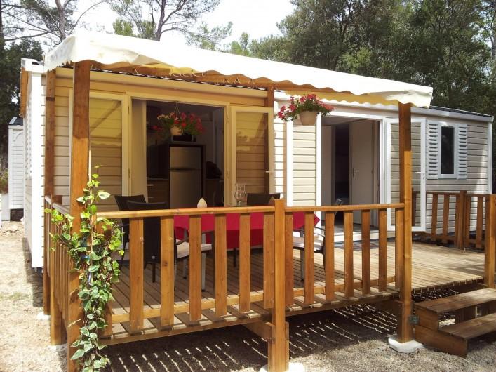 Location de vacances - Bungalow - Mobilhome à Sillans-la-Cascade