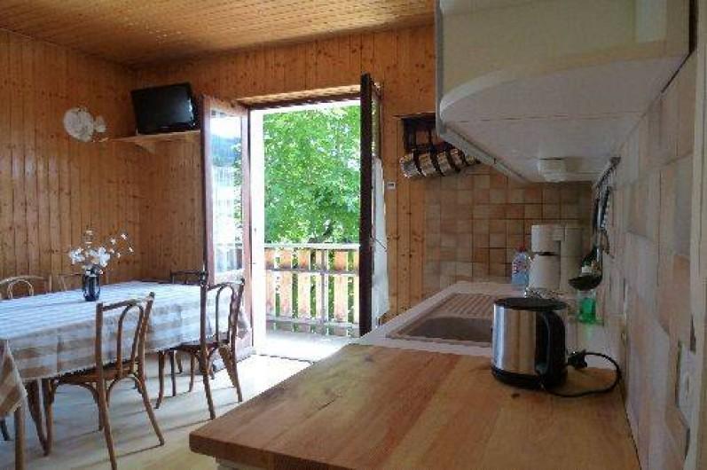 Location de vacances - Appartement à Morzine - Séjour