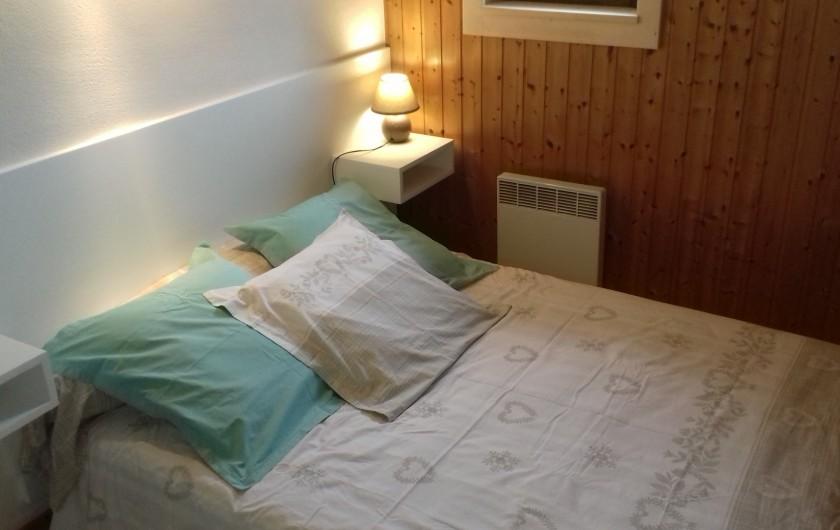 Location de vacances - Appartement à Morzine - Chambre des parents