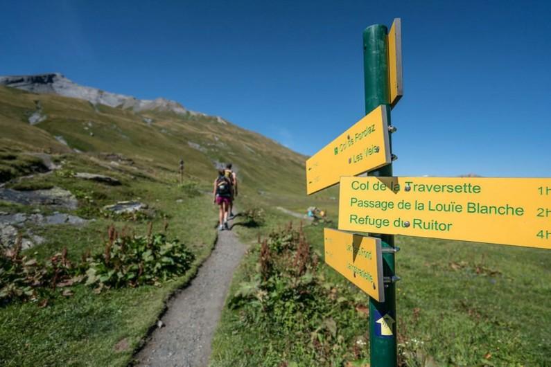 Location de vacances - Studio à La Rosière - Paysage d'hiver