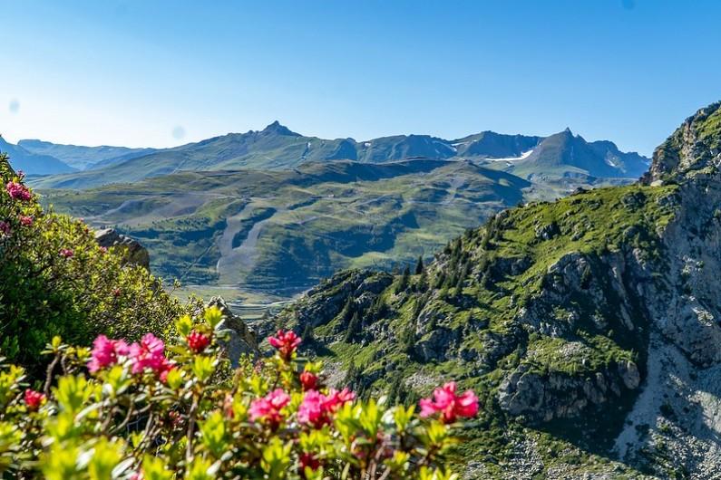 Location de vacances - Studio à La Rosière - Chaine du Mont Blanc