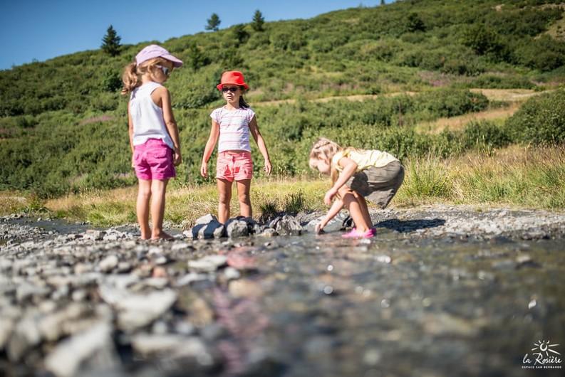 Location de vacances - Studio à La Rosière - Balade dans la neige