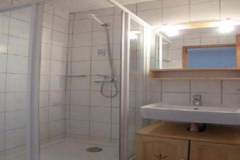 Location de vacances - Studio à La Rosière - salle de bain