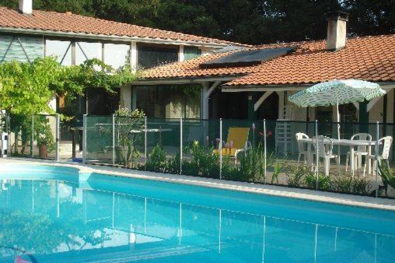 Location de vacances - Villa à Seignosse - piscine