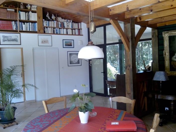 Location de vacances - Villa à Seignosse - entrée générale , séjour partie 2
