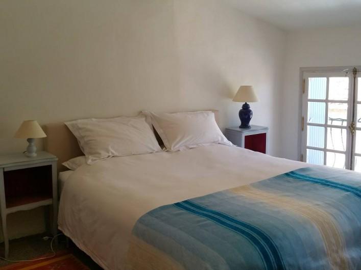 Location de vacances - Maison - Villa à Pouzolles - Chambre 3 en lit double 'superking' 180 x 200