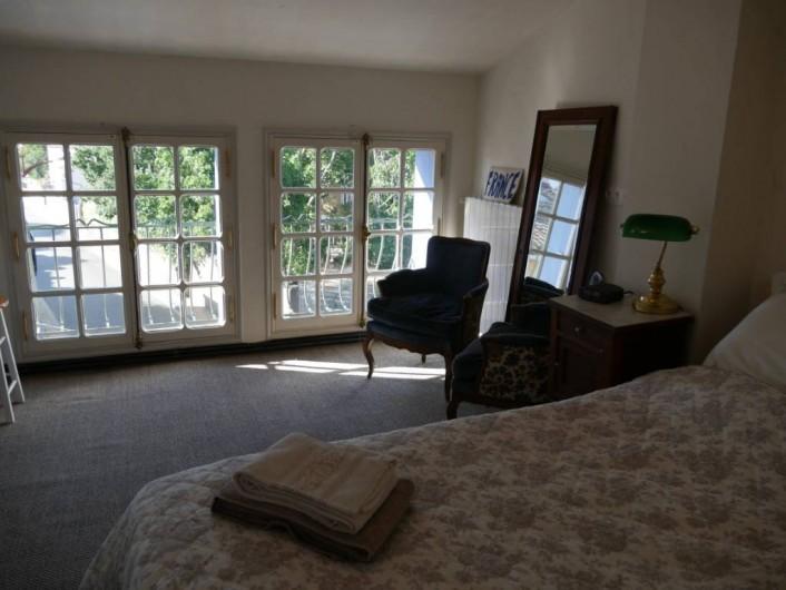 Location de vacances - Maison - Villa à Pouzolles - Chambre 2 - lit 160 x 200