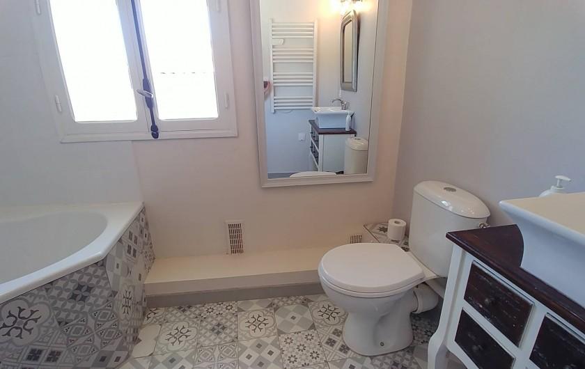 Location de vacances - Maison - Villa à Pouzolles - Salle de bain