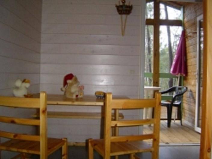 Location de vacances - Chalet à Joyeuse - Pièce à vivre - Chalet Garrigue