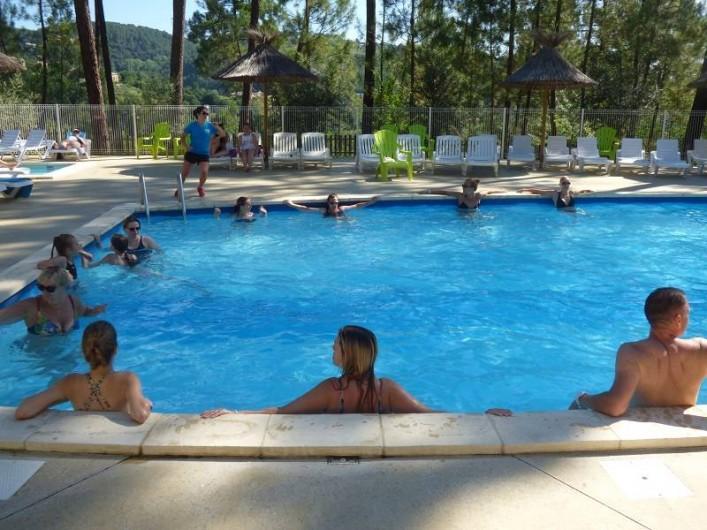 Location de vacances - Chalet à Joyeuse - Réveil aquatique