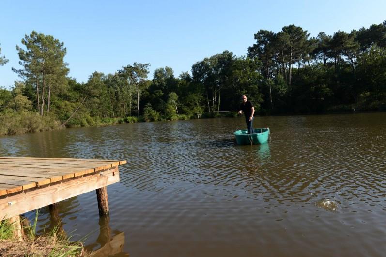 Location de vacances - Gîte à Eygurande-et-Gardedeuil - Pêche Gîte de la Guirandole-Eygurande et Gardedeuil-Dordogne