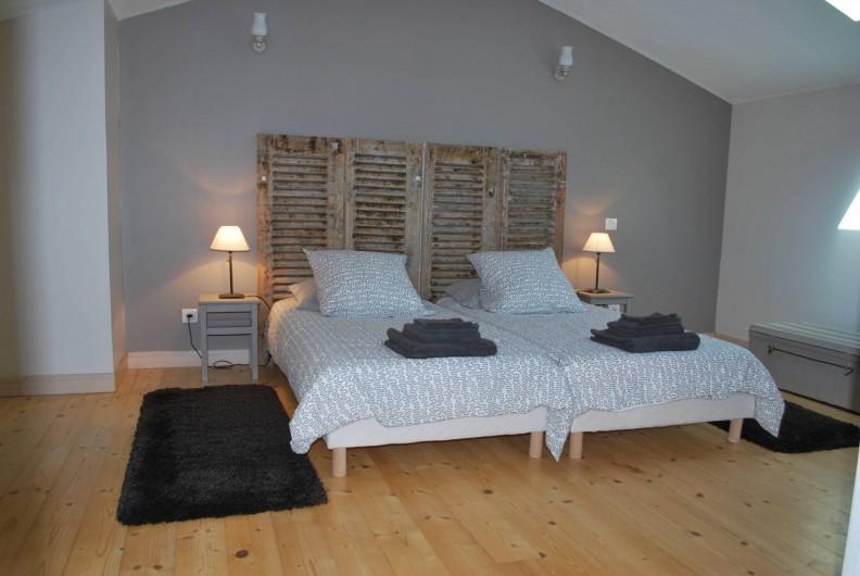 Location de vacances - Gîte à Eygurande-et-Gardedeuil - Chambre à l'étage Gîte de la Guirandole-Eygurande et Gardedeuil-Dordogne