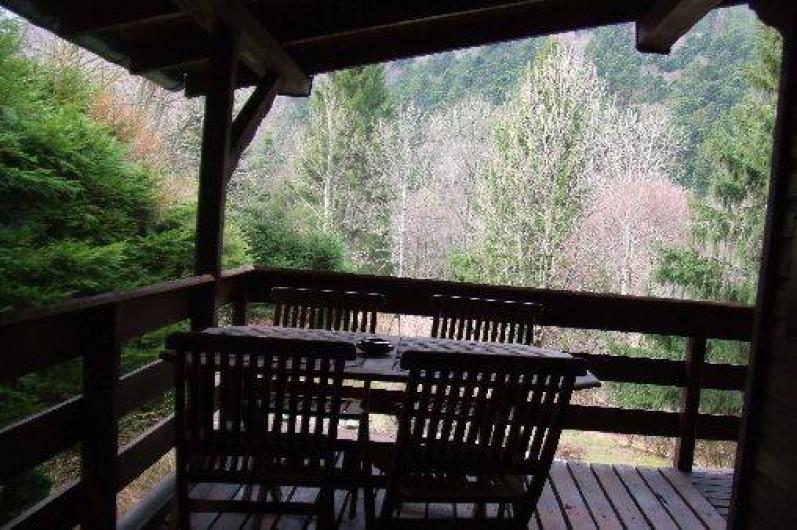 Location de vacances - Chalet à Mittlach