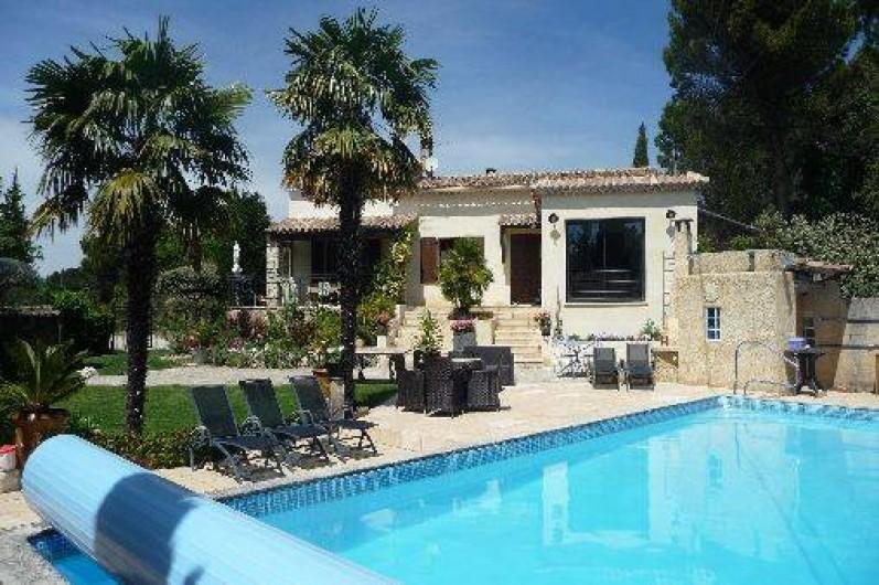 Location Villa  Pers Avec Piscine Chauffe Et Spa  Vaison La