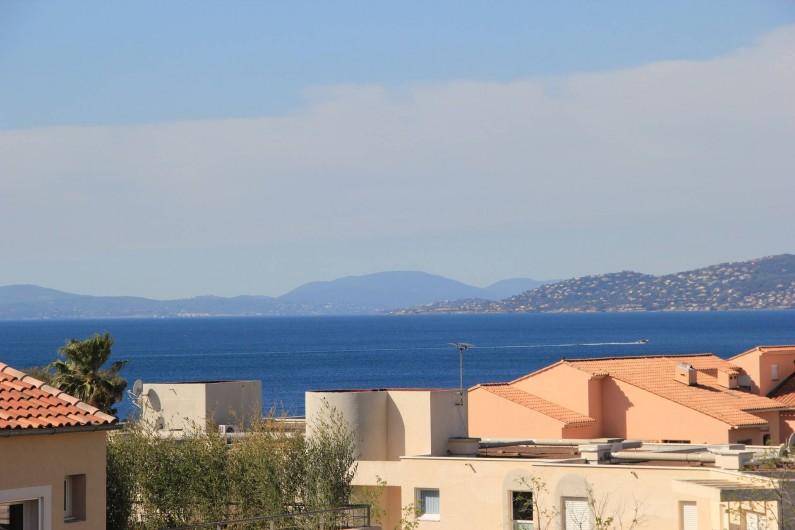 Location de vacances - Appartement à Saint-Raphaël - VUE MER