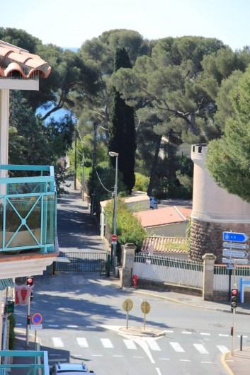 Location de vacances - Appartement à Saint-Raphaël - CHEMIN D'ACCES A LA PLAGE DE LA TORTUE
