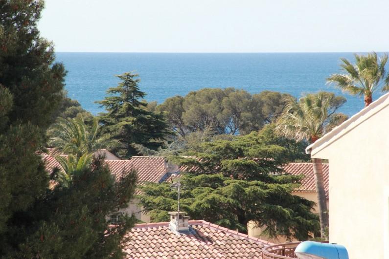Location de vacances - Appartement à Saint-Raphaël - VUE