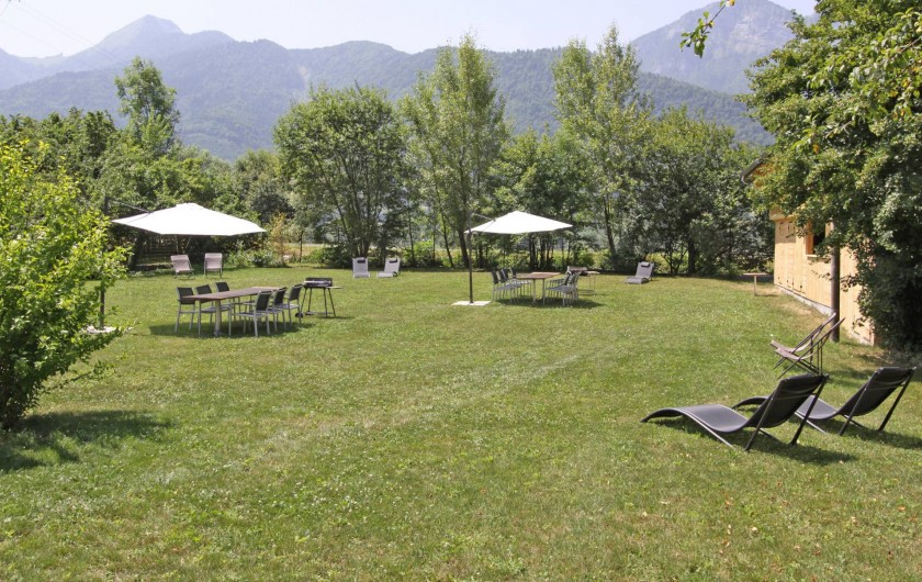 Location de vacances - Gîte à Annecy - Jardin