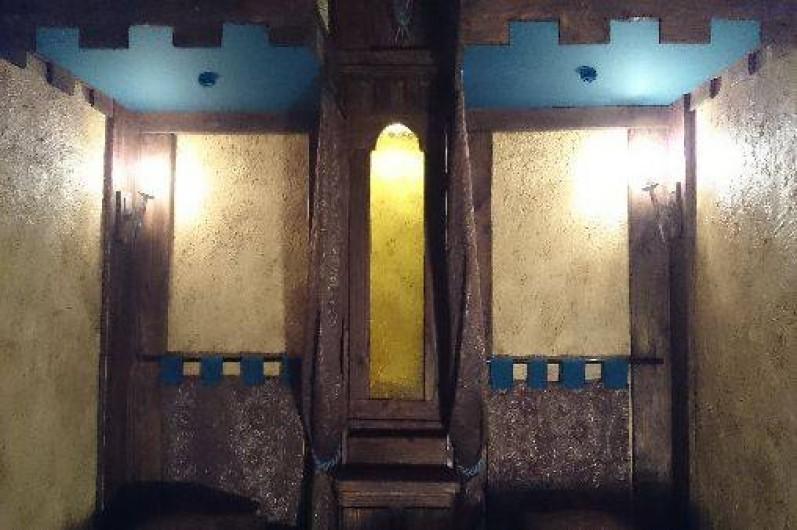 Location de vacances - Gîte à Servas - 2 çme chambre Médiévale