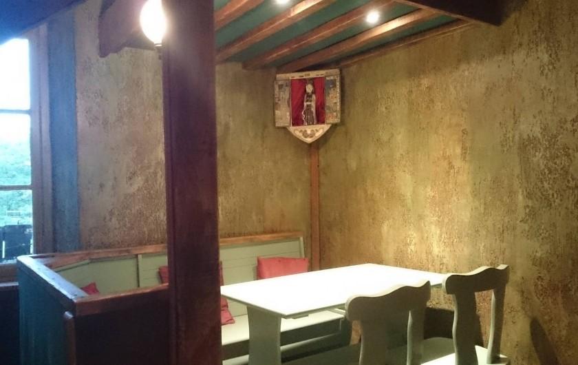 Location de vacances - Gîte à Servas - cuisine coin repas