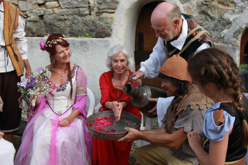 Location de vacances - Gîte à Servas - Animation mariage médiéval