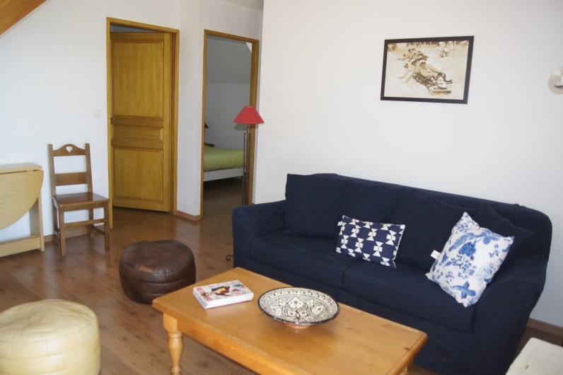 Location de vacances - Appartement à Loudenvielle - Coin salon