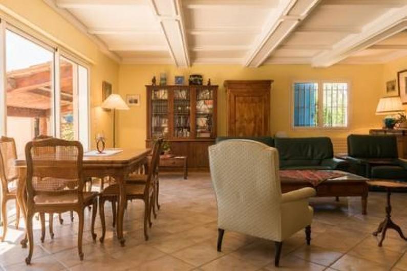 Location de vacances - Villa à La Cadière-d'Azur - salon