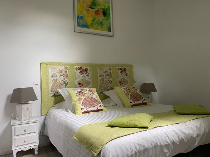 Location de vacances - Gîte à Mazamet - Chambre verte