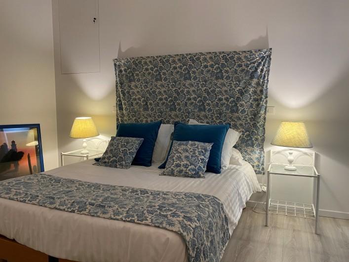 Location de vacances - Gîte à Mazamet - Chambre bleue