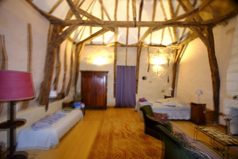Location de vacances - Gîte à Cénac-et-Saint-Julien - Chambre Lascaux