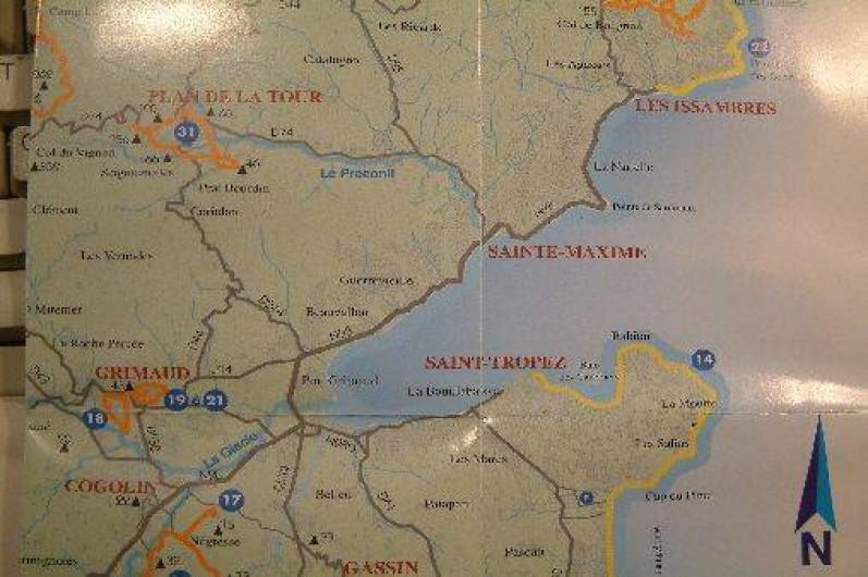 Location de vacances - Mas à Le Plan-de-la-Tour