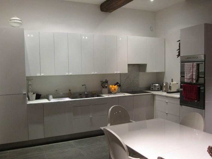 Location de vacances - Chambre d'hôtes à Beaune - La cuisine, entièrement équipée
