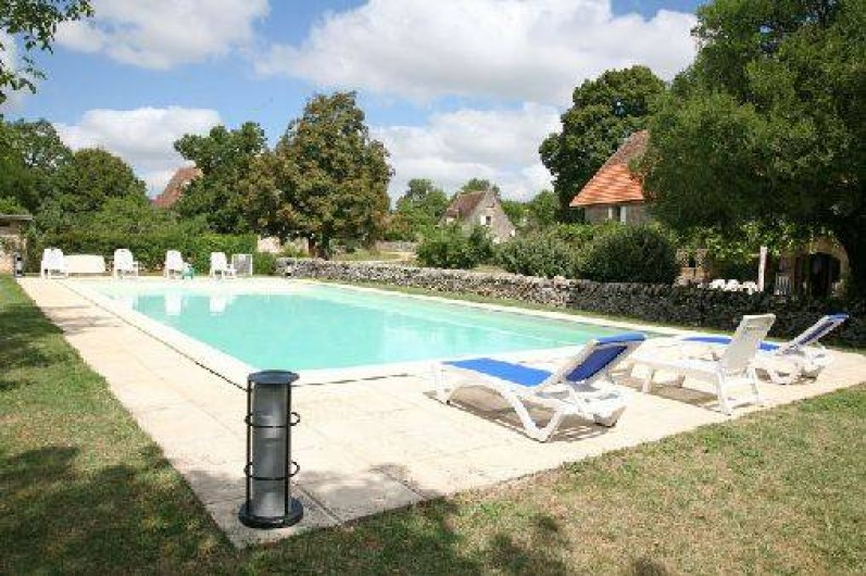 Location de vacances - Gîte à Gramat - Piscine 15X7m