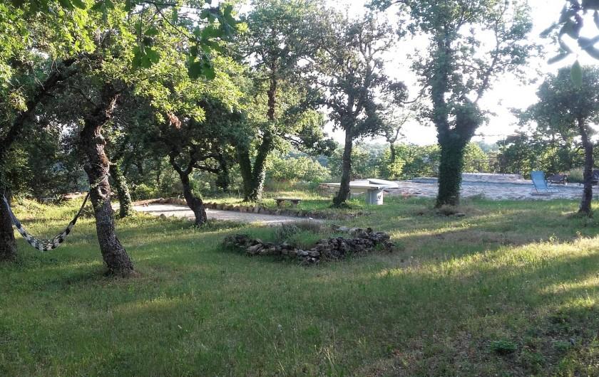 Location de vacances - Villa à Saignon - extérieurs