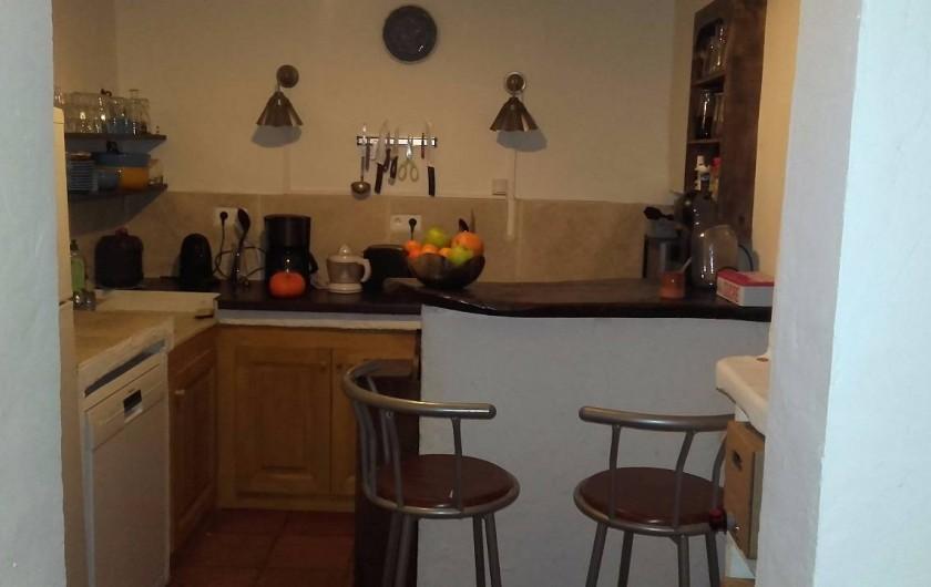 Location de vacances - Villa à Saignon - cuisine