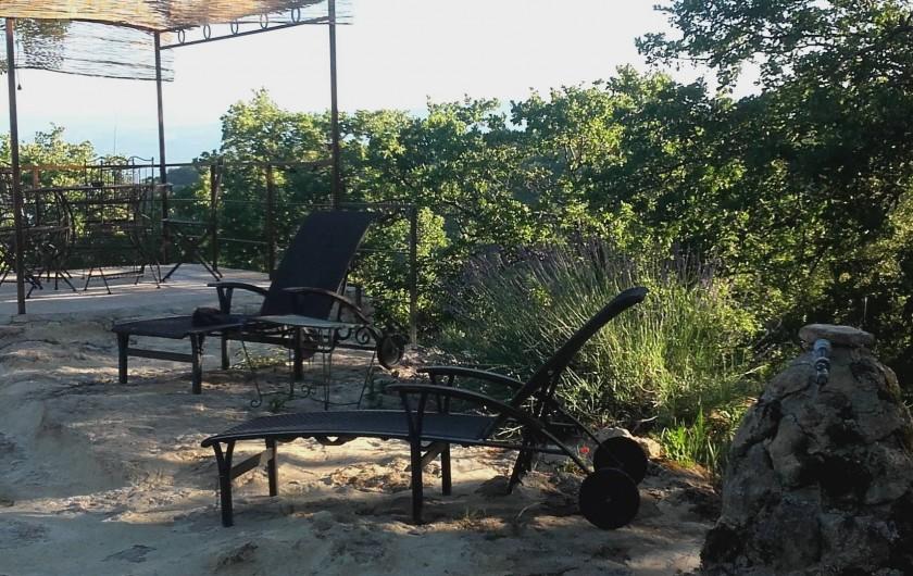 Location de vacances - Villa à Saignon - au bord de l'eau