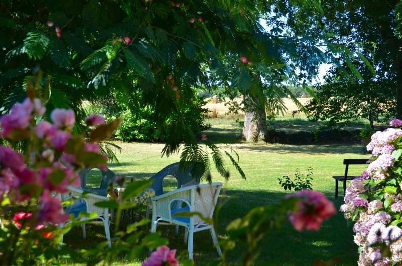 Location de vacances - Gîte à Dému - Un bout de Jardin
