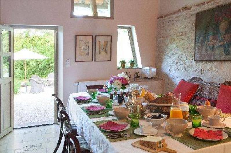 Location de vacances - Chambre d'hôtes à Bruailles