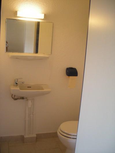 Location de vacances - Appartement à Saint-Aygulf - WC indépendant