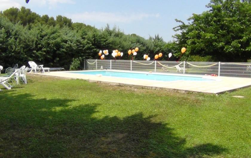 Location de vacances - Villa à Cornillon-Confoux