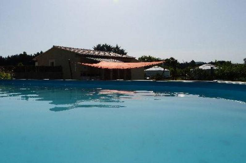 Location de vacances - Yourte à Plan-d'Orgon