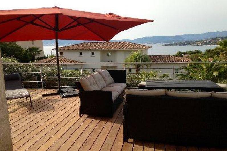 Location de vacances - Villa à Pietrosella - terrasse
