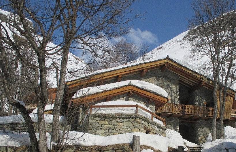 Location de vacances - Appartement à Bonneval-sur-Arc - Le chalet en hiver