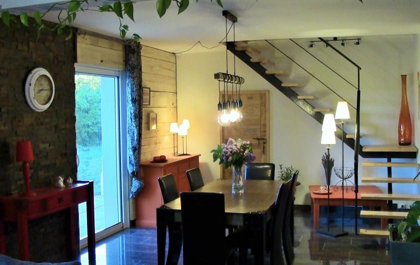 Location de vacances - Villa à Lalbenque - LOTus, Salle à manger