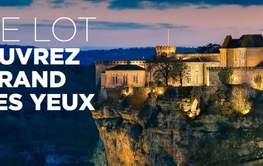 Location de vacances - Villa à Lalbenque - Beaucoup de choses à visiter dans le LOT, Rocamadour, ...