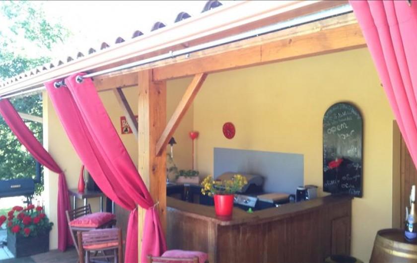 Location de vacances - Villa à Lalbenque - Pool-House