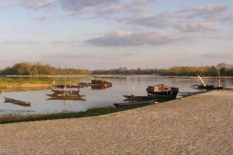 Location de vacances - Studio à Saint-Aubin-de-Luigné - Bord de Loire et sa batellerie