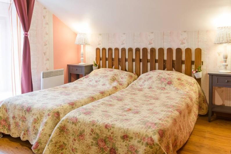 Location de vacances - Gîte à Baroville - Chambre avec 2 lits simples